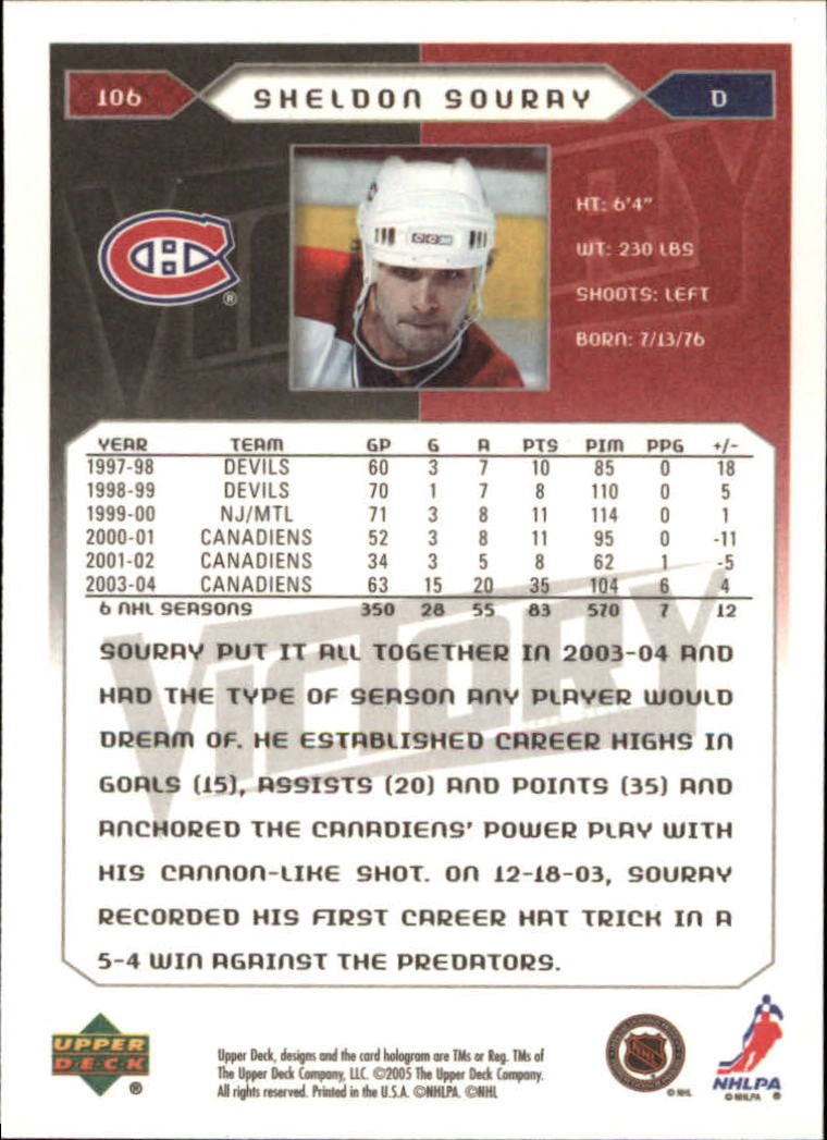 2005-06-Upper-Deck-Victory-Hockey-Cards-1-250-Pick-From-List thumbnail 195