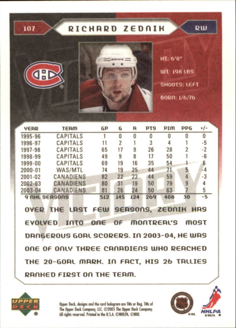 2005-06-Upper-Deck-Victory-Hockey-Cards-1-250-Pick-From-List thumbnail 197