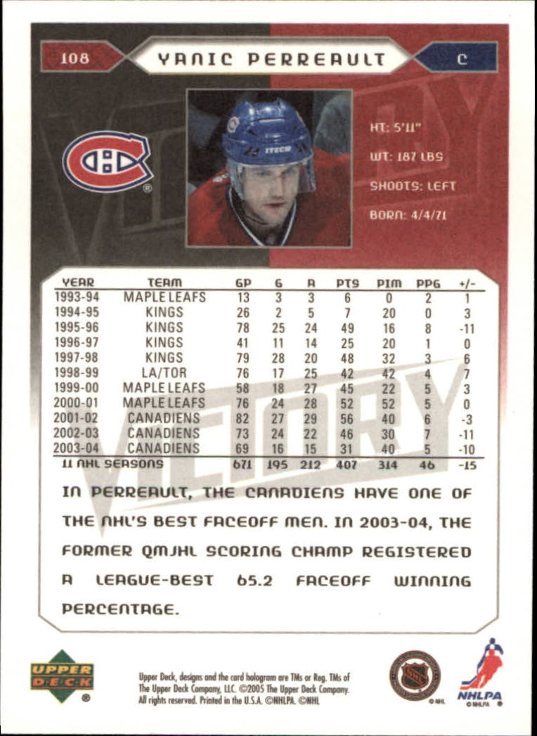 2005-06-Upper-Deck-Victory-Hockey-Cards-1-250-Pick-From-List thumbnail 199