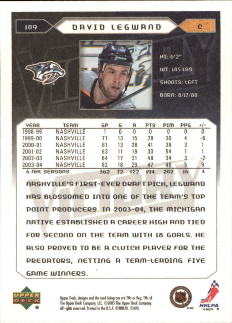 2005-06-Upper-Deck-Victory-Hockey-Cards-1-250-Pick-From-List thumbnail 201