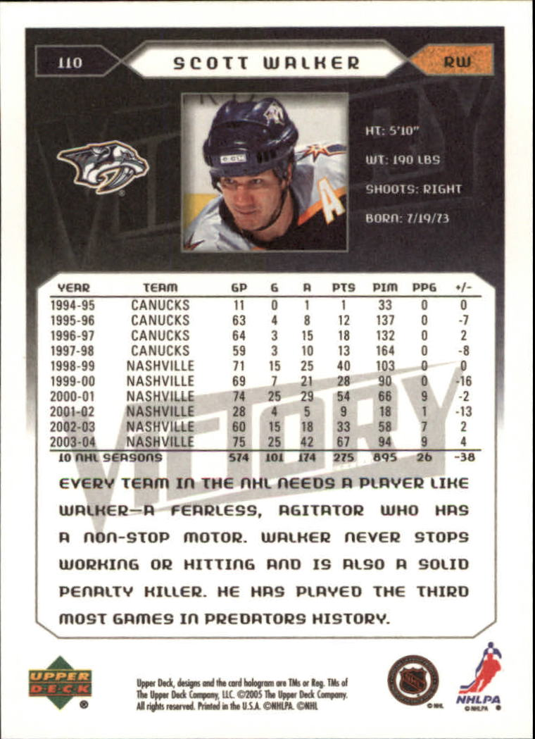 2005-06-Upper-Deck-Victory-Hockey-Cards-1-250-Pick-From-List thumbnail 203