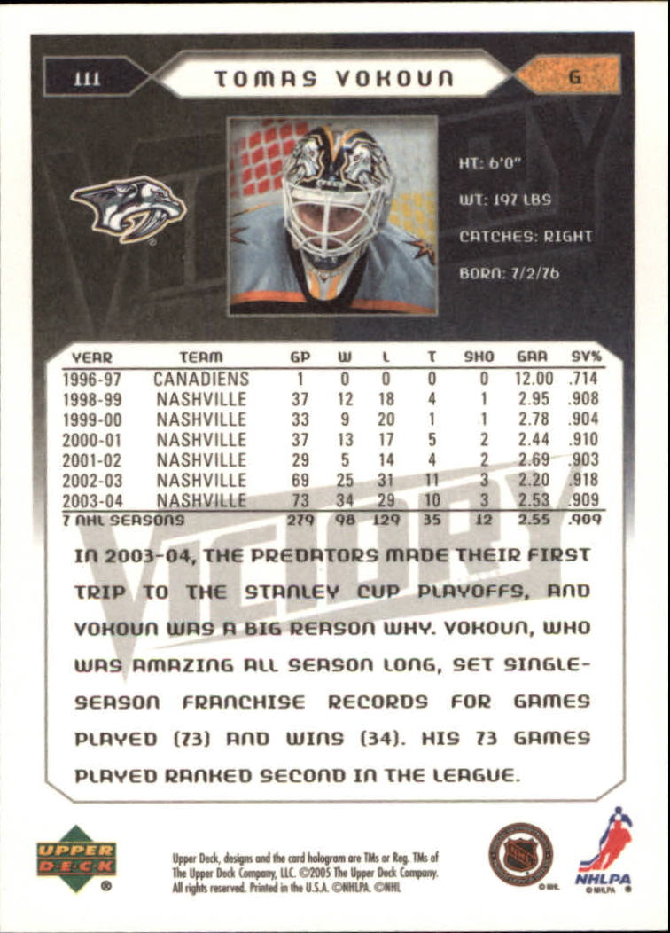 2005-06-Upper-Deck-Victory-Hockey-Cards-1-250-Pick-From-List thumbnail 205