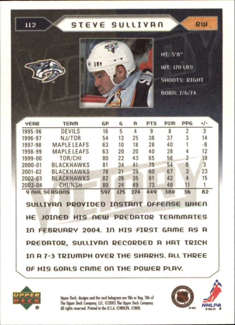 2005-06-Upper-Deck-Victory-Hockey-Cards-1-250-Pick-From-List thumbnail 207