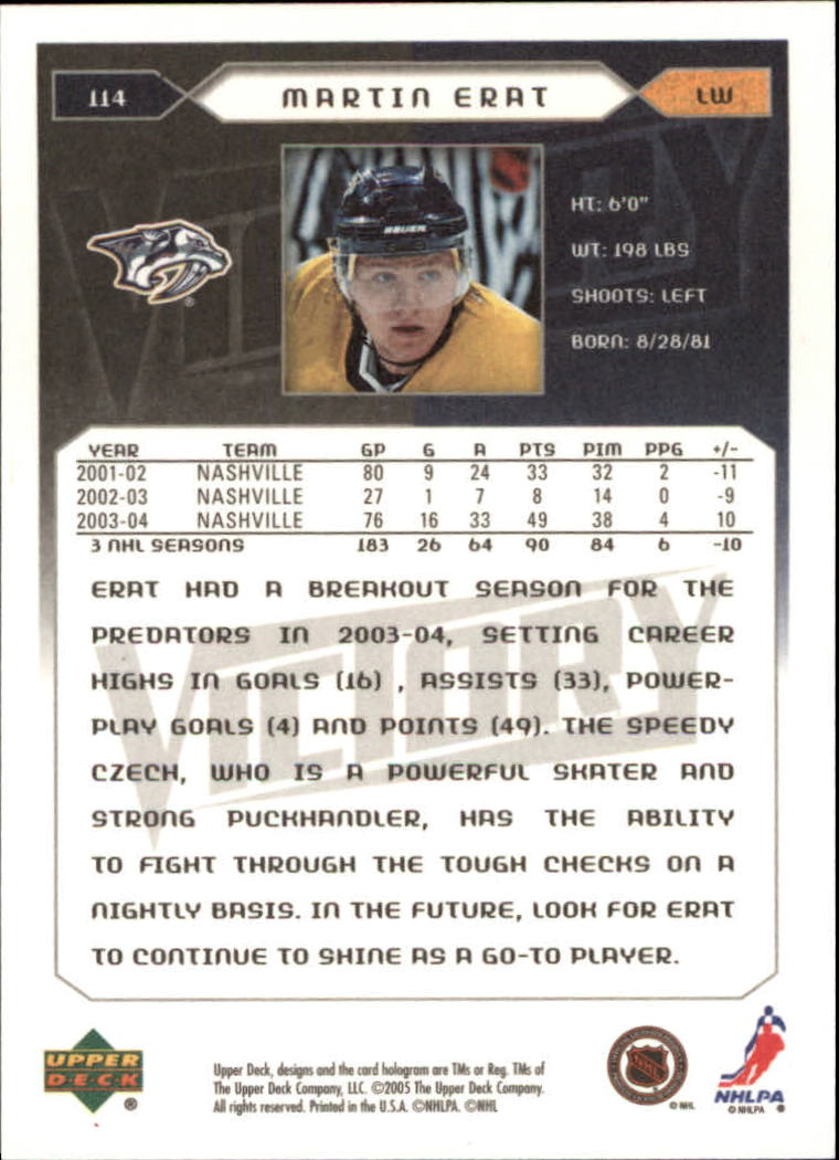 2005-06-Upper-Deck-Victory-Hockey-Cards-1-250-Pick-From-List thumbnail 211