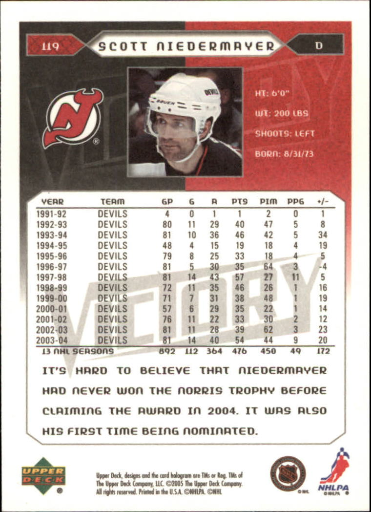 2005-06-Upper-Deck-Victory-Hockey-Cards-1-250-Pick-From-List thumbnail 221