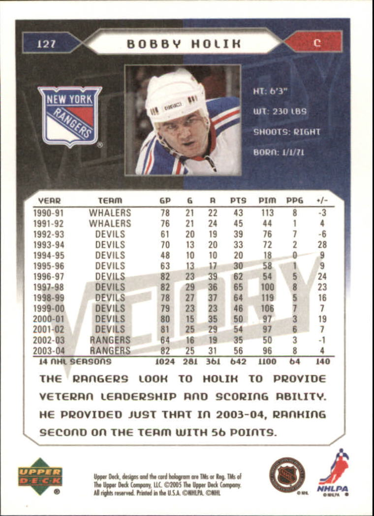 2005-06-Upper-Deck-Victory-Hockey-Cards-1-250-Pick-From-List thumbnail 237