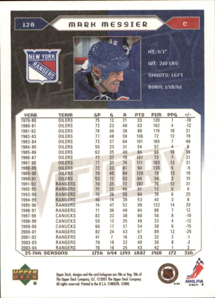 2005-06-Upper-Deck-Victory-Hockey-Card-Pick thumbnail 173
