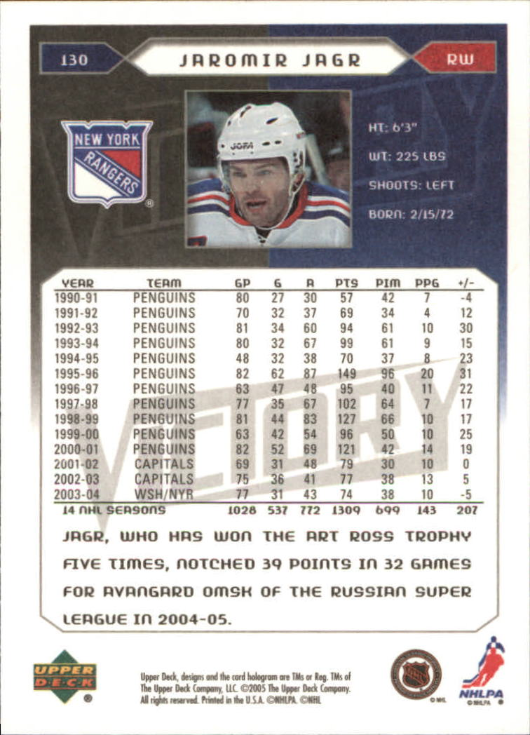 2005-06-Upper-Deck-Victory-Hockey-Cards-1-250-Pick-From-List thumbnail 241
