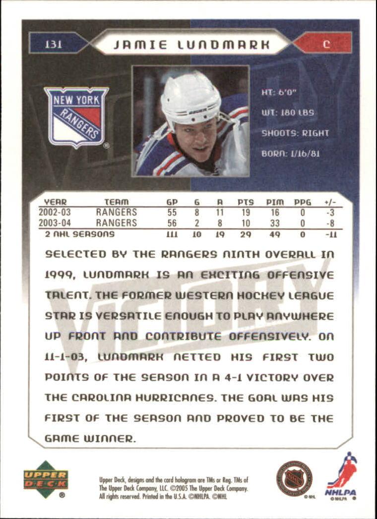 2005-06-Upper-Deck-Victory-Hockey-Card-Pick thumbnail 179