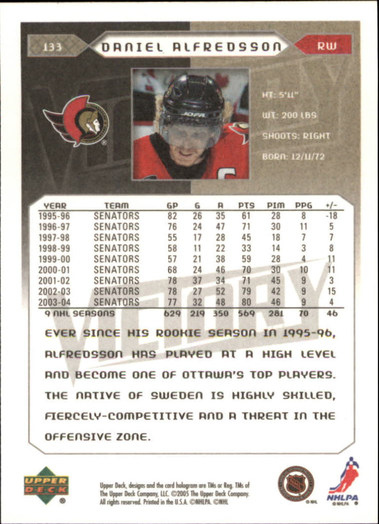 2005-06-Upper-Deck-Victory-Hockey-Cards-1-250-Pick-From-List thumbnail 245