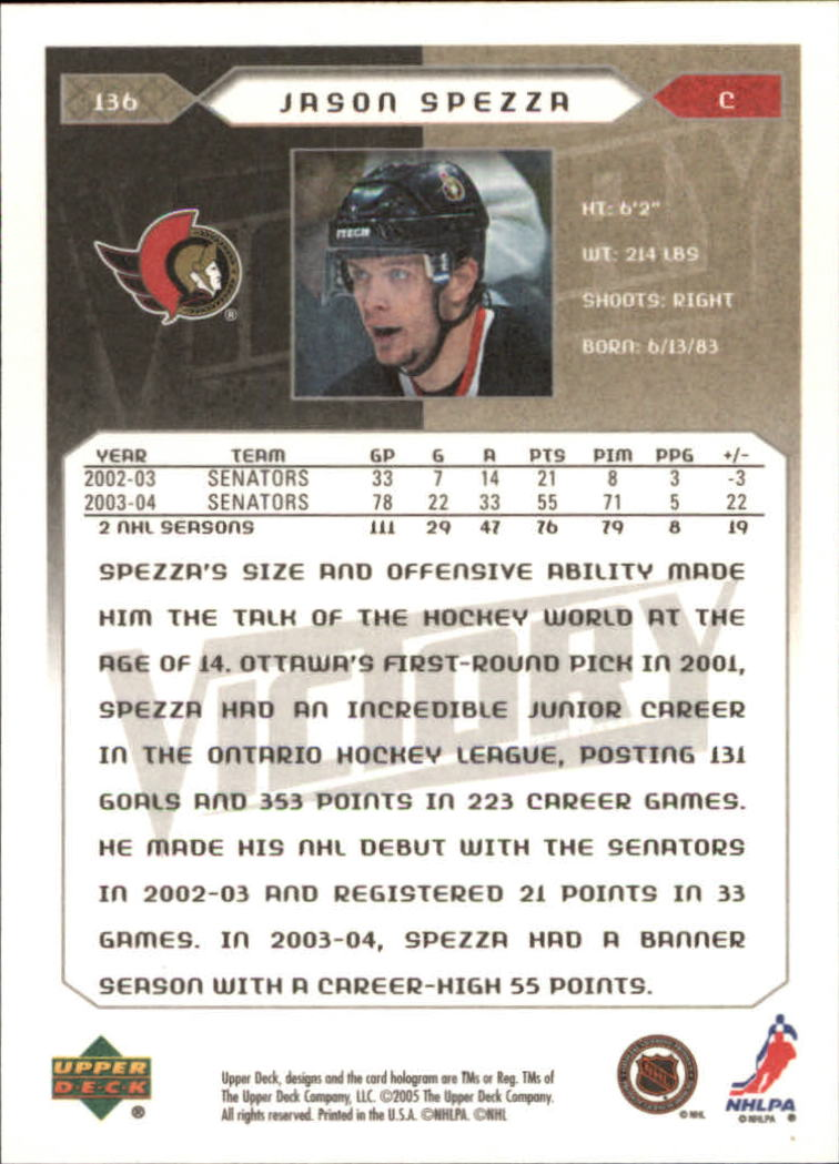 2005-06-Upper-Deck-Victory-Hockey-Cards-1-250-Pick-From-List thumbnail 251