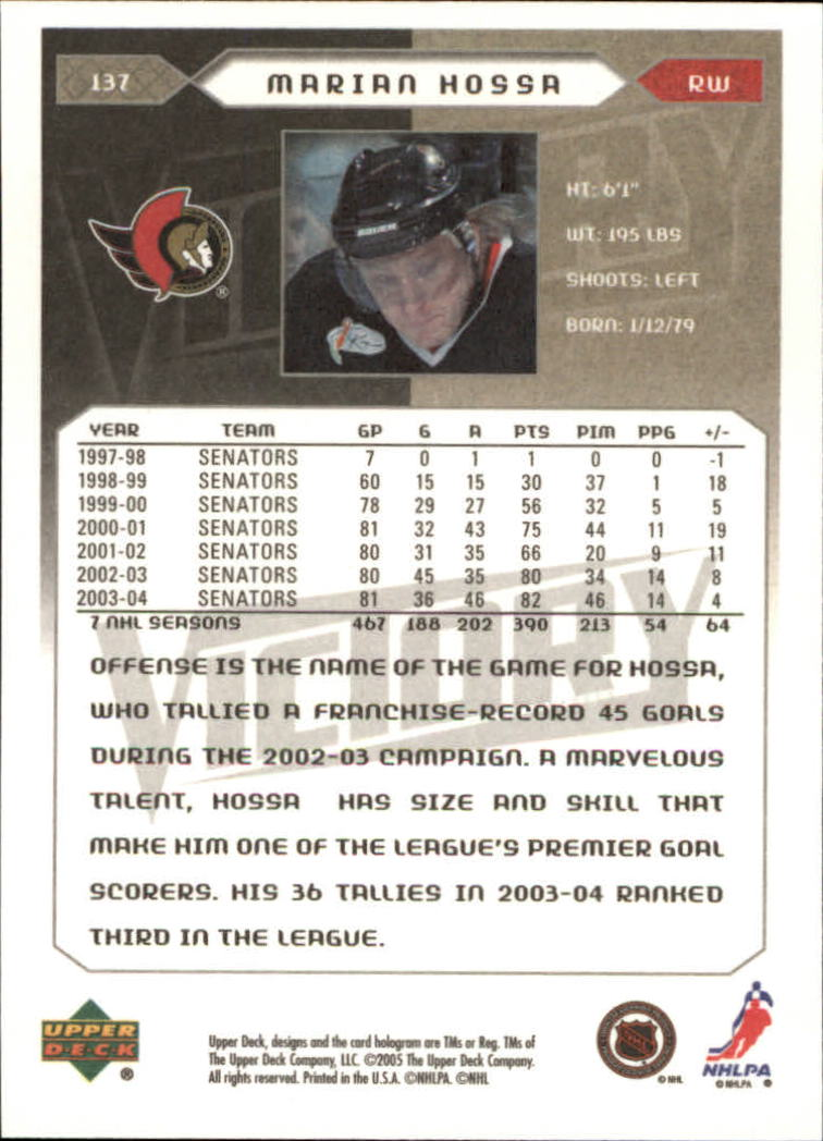 2005-06-Upper-Deck-Victory-Hockey-Cards-1-250-Pick-From-List thumbnail 253