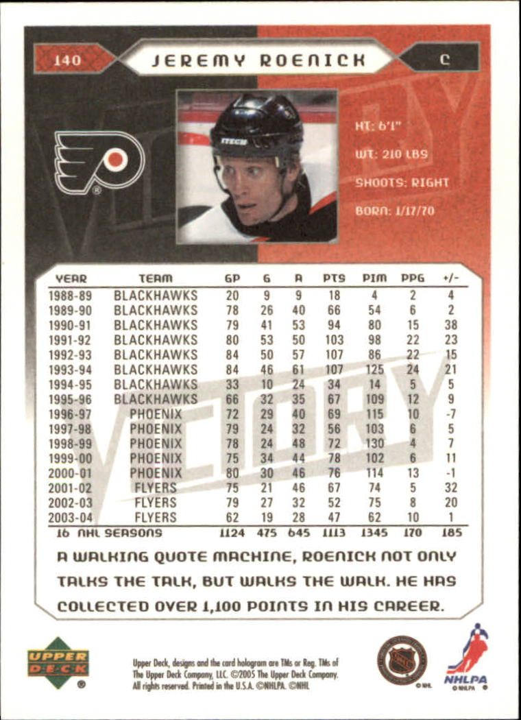 2005-06-Upper-Deck-Victory-Hockey-Cards-1-250-Pick-From-List thumbnail 259