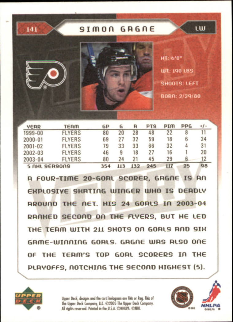 2005-06-Upper-Deck-Victory-Hockey-Cards-1-250-Pick-From-List thumbnail 261