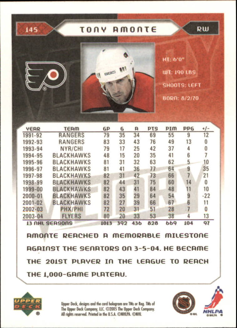 2005-06-Upper-Deck-Victory-Hockey-Cards-1-250-Pick-From-List thumbnail 269