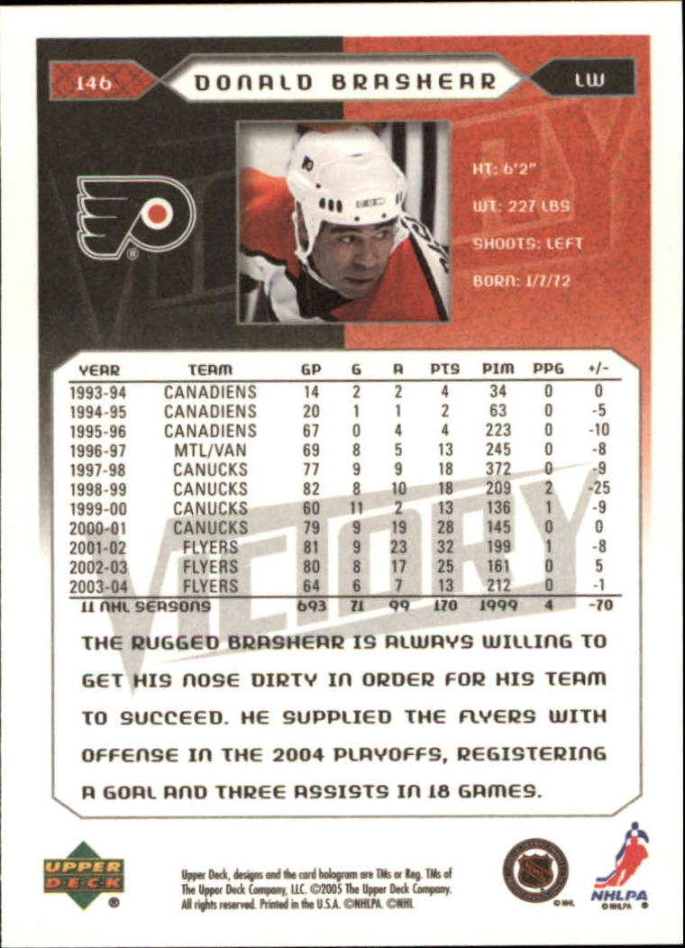 2005-06-Upper-Deck-Victory-Hockey-Cards-1-250-Pick-From-List thumbnail 271