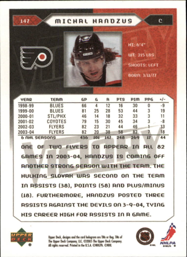 2005-06-Upper-Deck-Victory-Hockey-Cards-1-250-Pick-From-List thumbnail 273