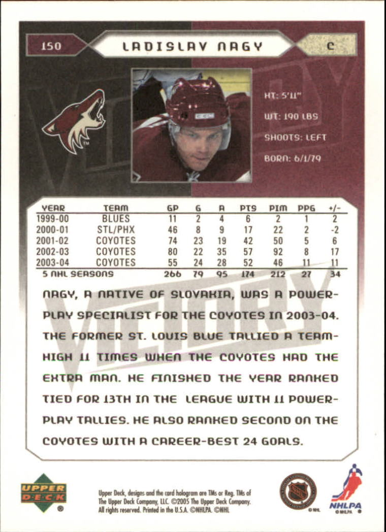 2005-06-Upper-Deck-Victory-Hockey-Cards-1-250-Pick-From-List thumbnail 277