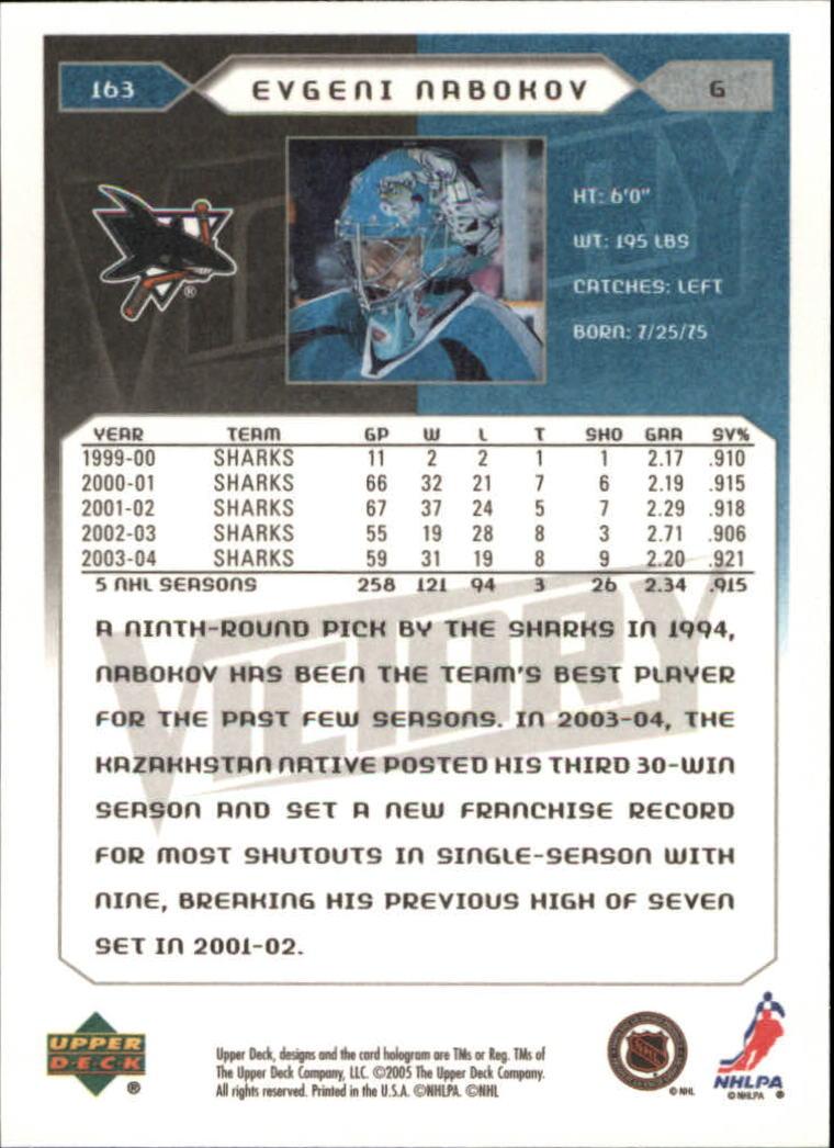 2005-06-Upper-Deck-Victory-Hockey-Card-Pick thumbnail 221