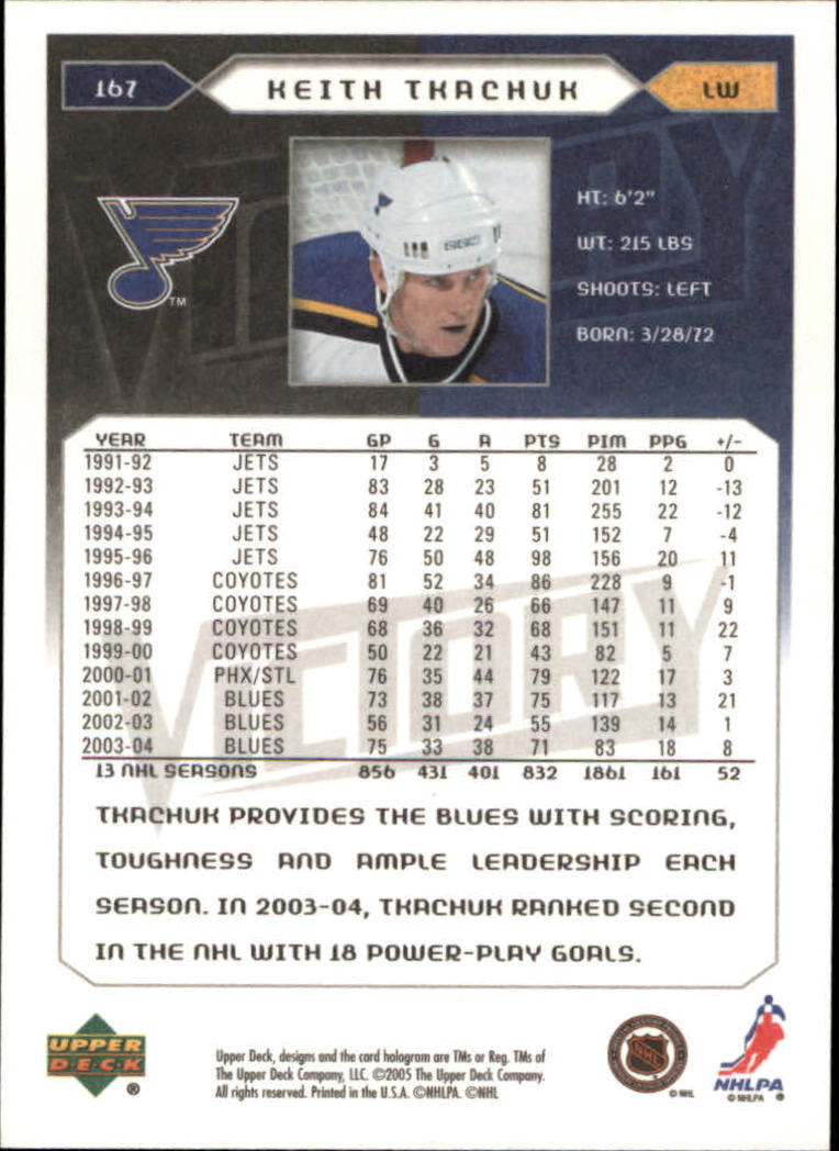 2005-06-Upper-Deck-Victory-Hockey-Cards-1-250-Pick-From-List thumbnail 309