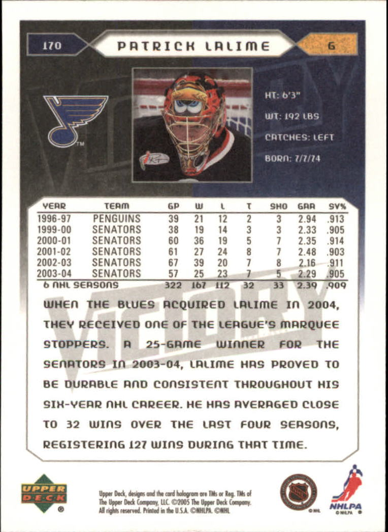 2005-06-Upper-Deck-Victory-Hockey-Cards-1-250-Pick-From-List thumbnail 315