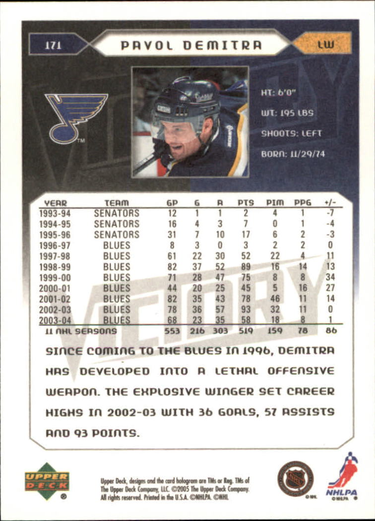 2005-06-Upper-Deck-Victory-Hockey-Cards-1-250-Pick-From-List thumbnail 317