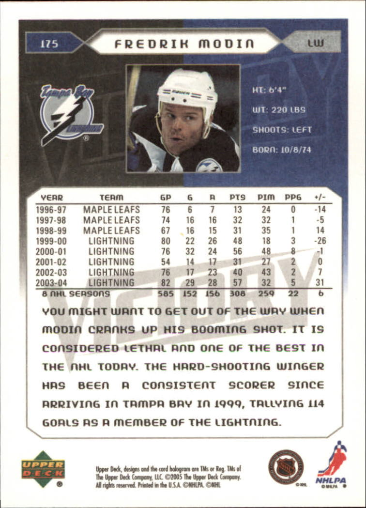 2005-06-Upper-Deck-Victory-Hockey-Cards-1-250-Pick-From-List thumbnail 325