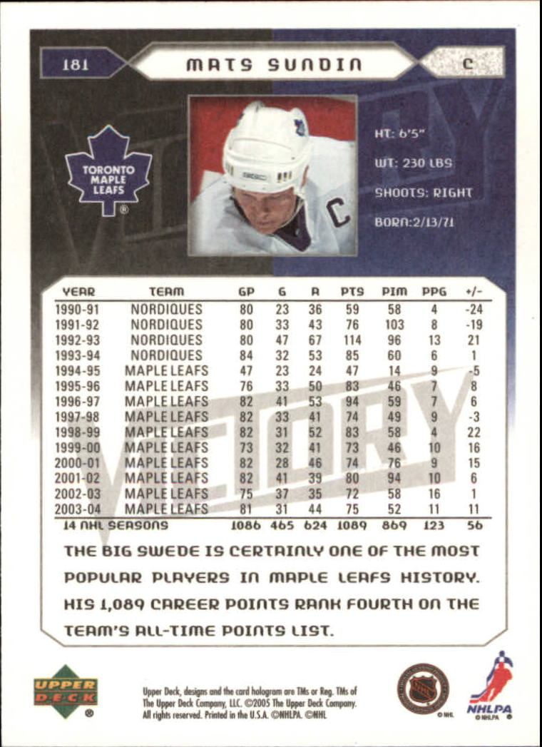2005-06-Upper-Deck-Victory-Hockey-Cards-1-250-Pick-From-List thumbnail 337