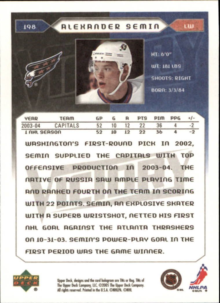 2005-06-Upper-Deck-Victory-Hockey-Cards-1-250-Pick-From-List thumbnail 369