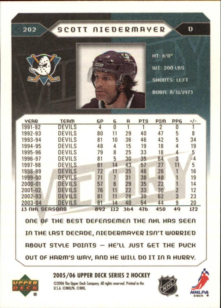 2005-06-Upper-Deck-Victory-Hockey-Card-Pick thumbnail 293