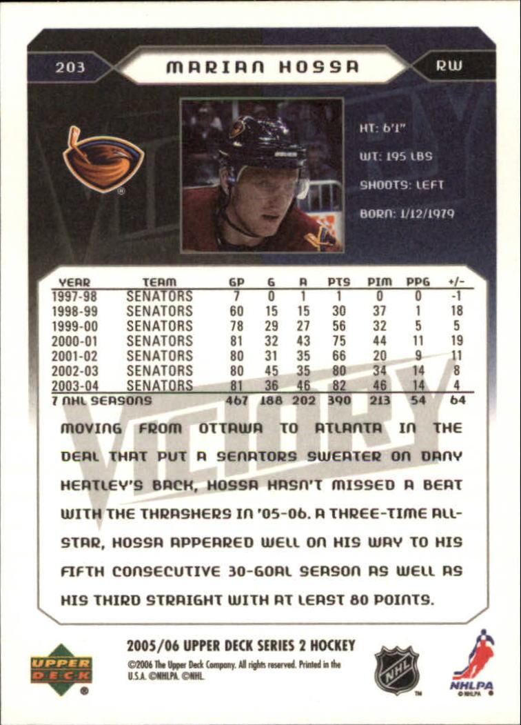 2005-06-Upper-Deck-Victory-Hockey-Card-Pick thumbnail 295