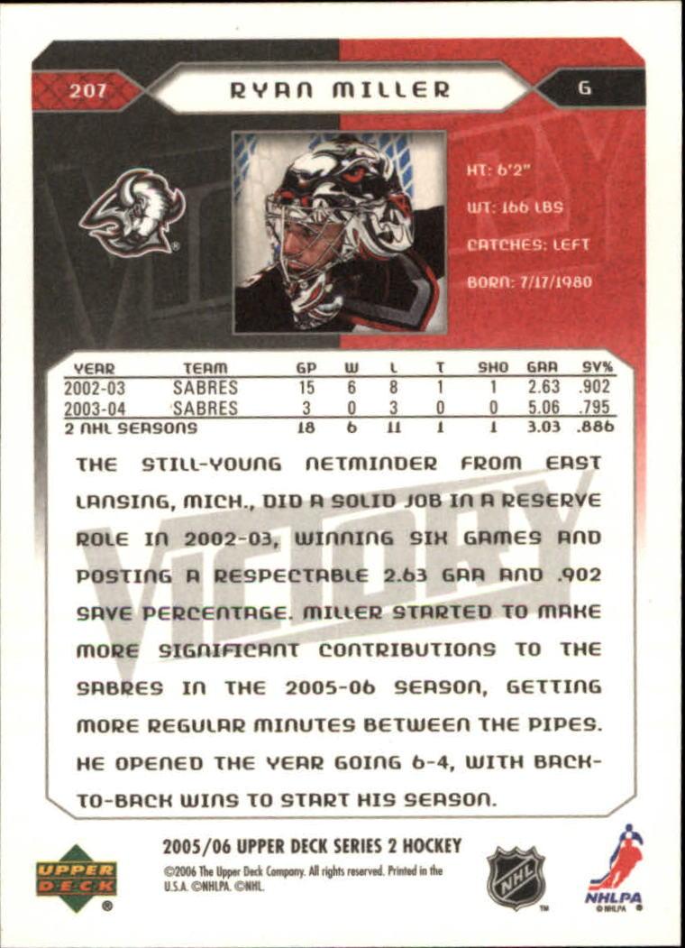 2005-06-Upper-Deck-Victory-Hockey-Card-Pick thumbnail 303