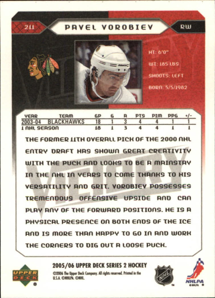 2005-06-Upper-Deck-Victory-Hockey-Cards-1-250-Pick-From-List thumbnail 383