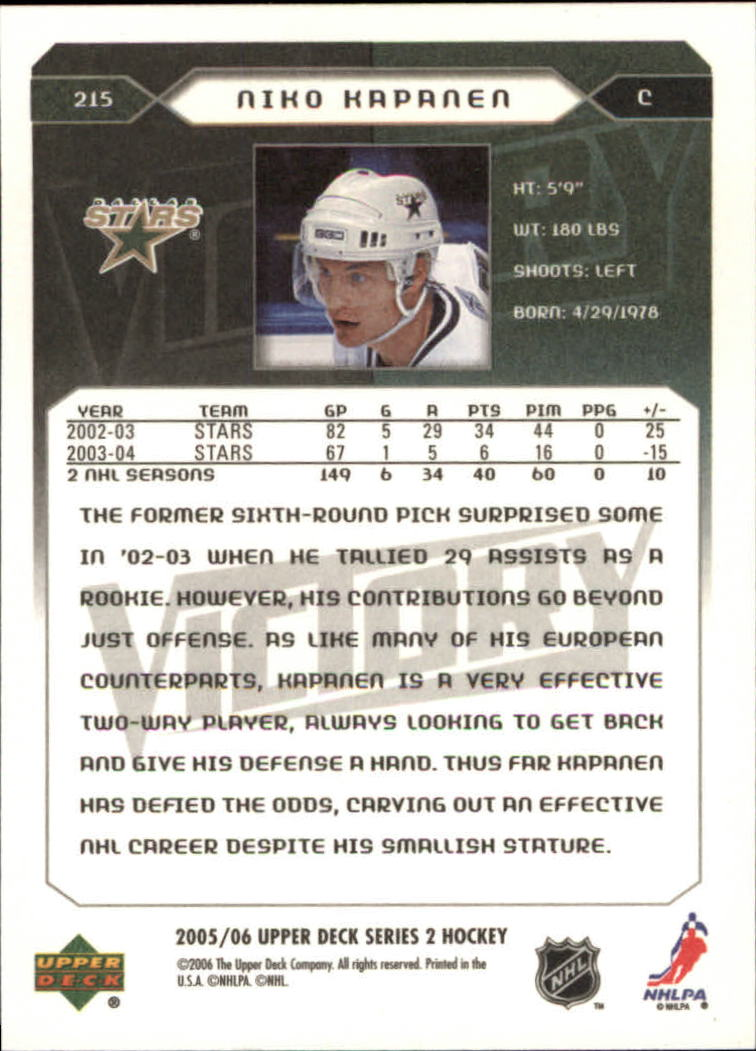 2005-06-Upper-Deck-Victory-Hockey-Card-Pick thumbnail 317