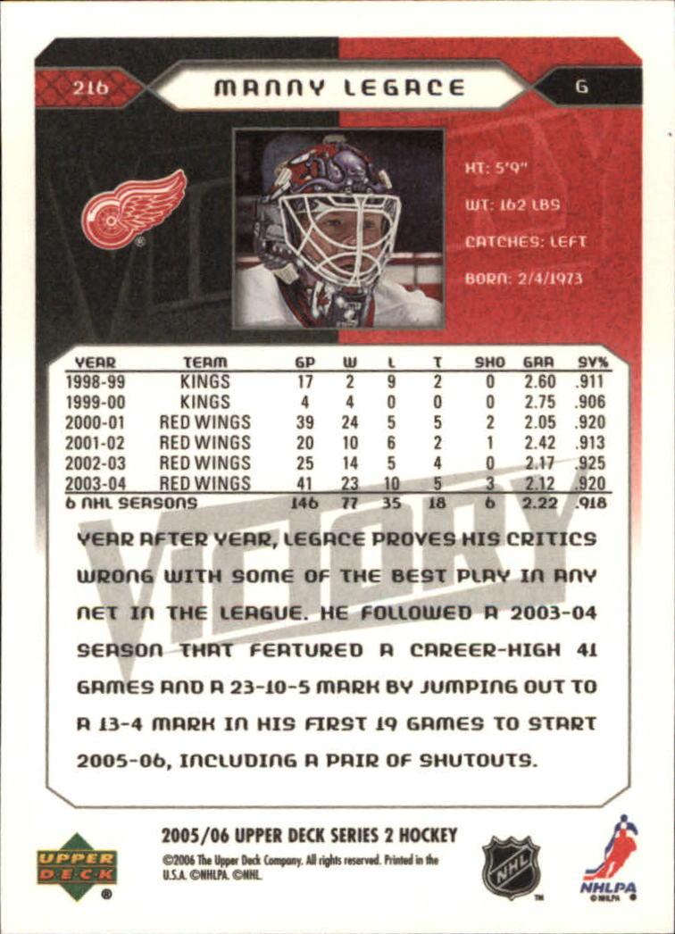 2005-06-Upper-Deck-Victory-Hockey-Card-Pick thumbnail 319