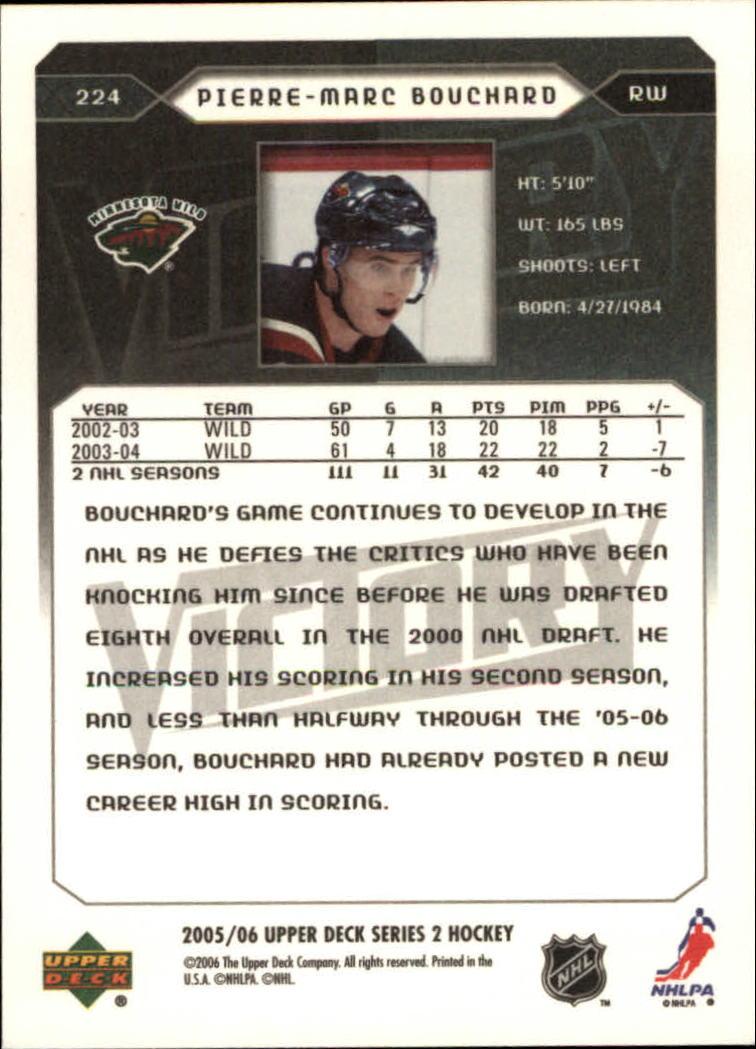 2005-06-Upper-Deck-Victory-Hockey-Card-Pick thumbnail 335