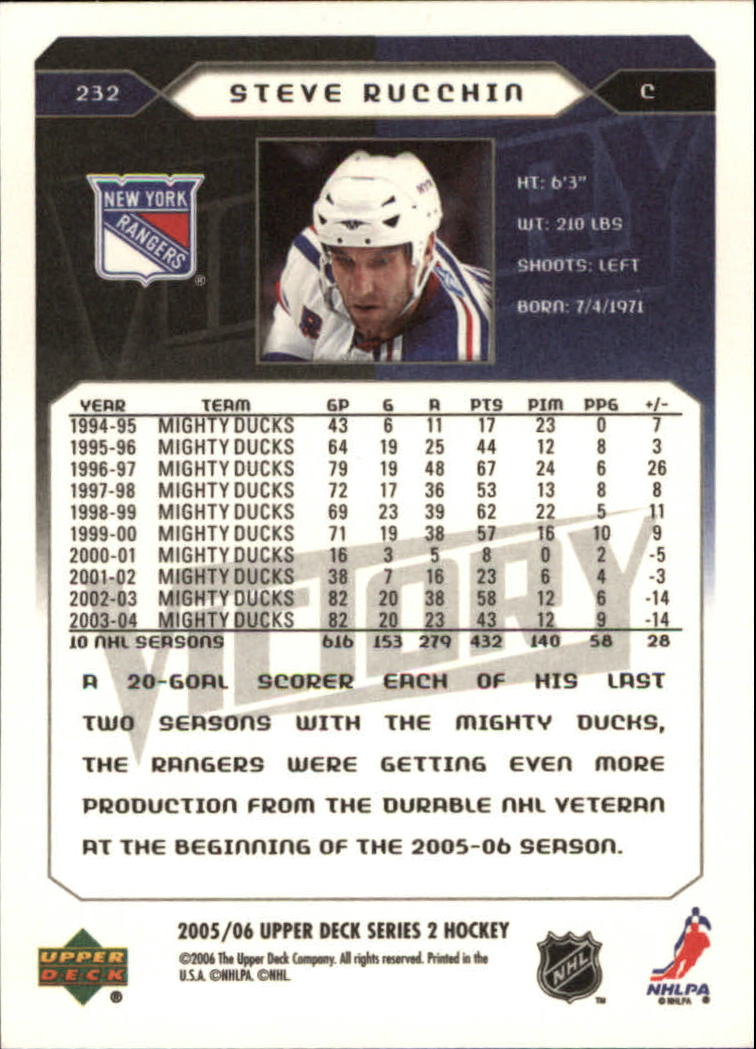2005-06-Upper-Deck-Victory-Hockey-Cards-1-250-Pick-From-List thumbnail 405