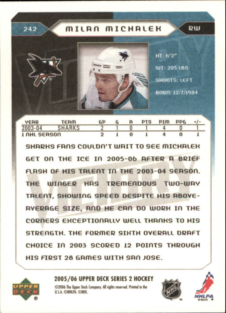2005-06-Upper-Deck-Victory-Hockey-Cards-1-250-Pick-From-List thumbnail 419
