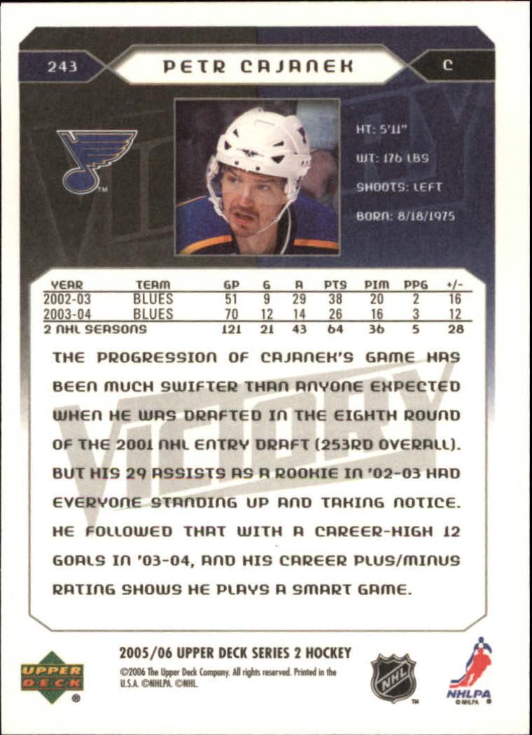 2005-06-Upper-Deck-Victory-Hockey-Card-Pick thumbnail 373