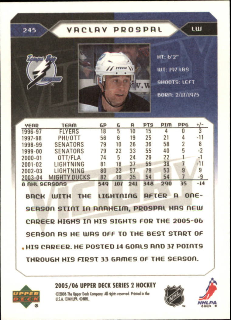 2005-06-Upper-Deck-Victory-Hockey-Cards-1-250-Pick-From-List thumbnail 423