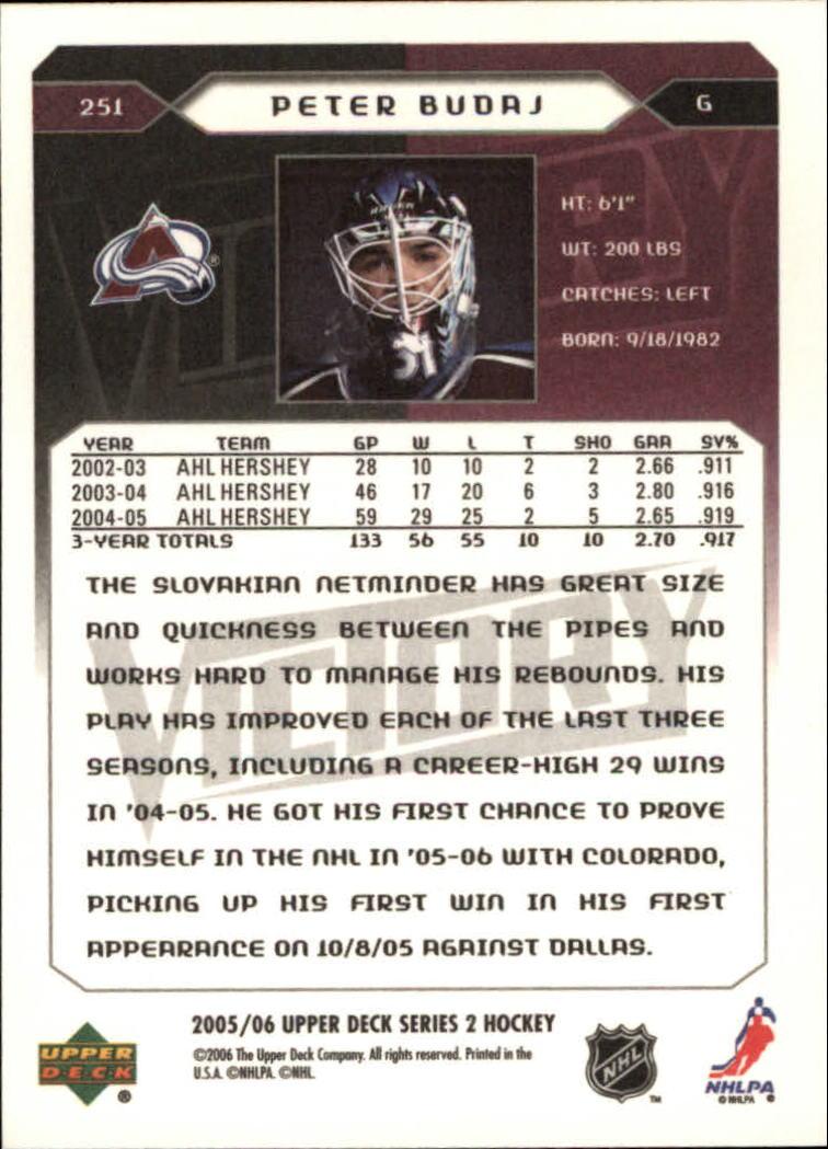 2005-06-Upper-Deck-Victory-Hockey-YOU-PICK thumbnail 103