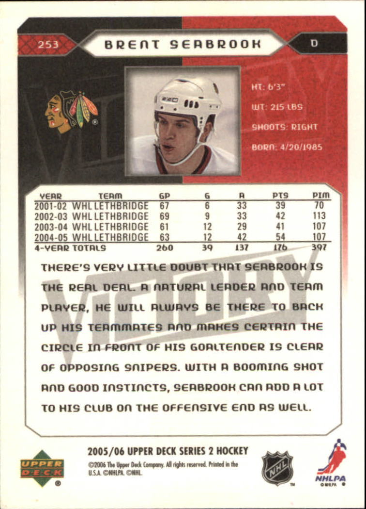 2005-06-Upper-Deck-Victory-Hockey-YOU-PICK thumbnail 107