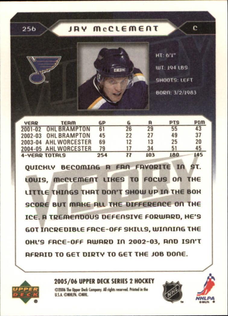 2005-06-Upper-Deck-Victory-Hockey-Card-Pick thumbnail 389