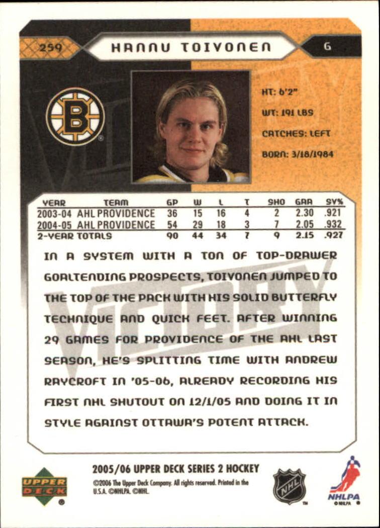 2005-06-Upper-Deck-Victory-Hockey-YOU-PICK thumbnail 118