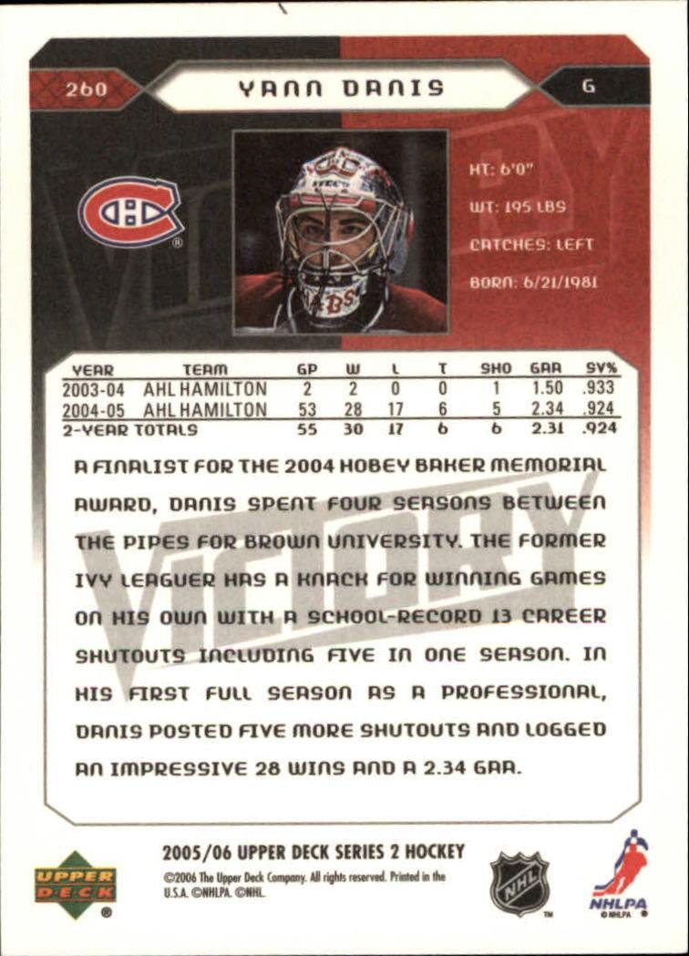2005-06-Upper-Deck-Victory-Hockey-YOU-PICK thumbnail 120