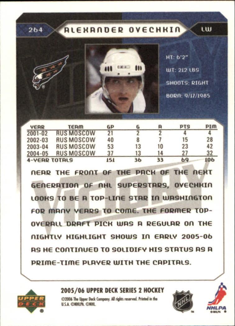 2005-06-Upper-Deck-Victory-Hockey-YOU-PICK thumbnail 128