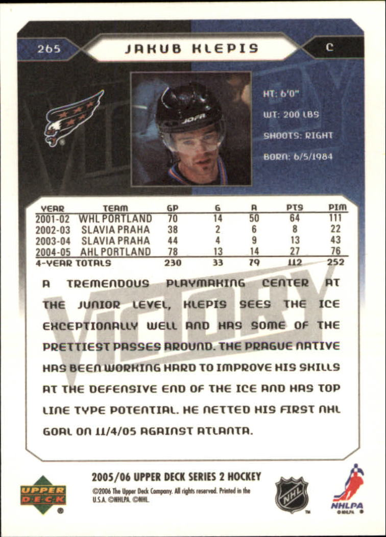 2005-06-Upper-Deck-Victory-Hockey-Card-Pick thumbnail 396