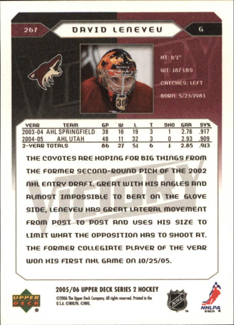 2005-06-Upper-Deck-Victory-Hockey-YOU-PICK thumbnail 134