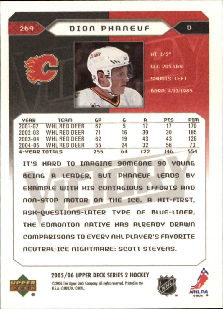 2005-06-Upper-Deck-Victory-Hockey-YOU-PICK thumbnail 136