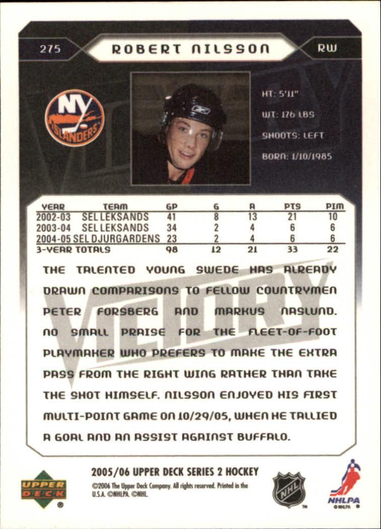 2005-06-Upper-Deck-Victory-Hockey-YOU-PICK thumbnail 144